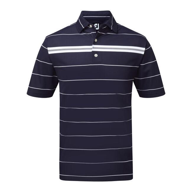 Smooth Pique Chest Stripe-Previous Season Style
