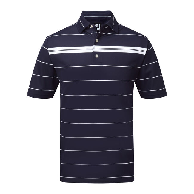 Smooth Pique Chest Stripe-Previous Season Style