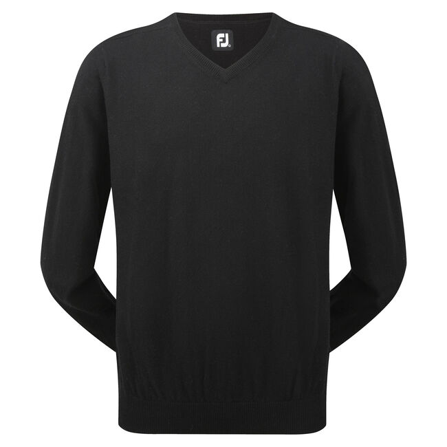 Lambswool V-Neck Pullover-Previous Season Style