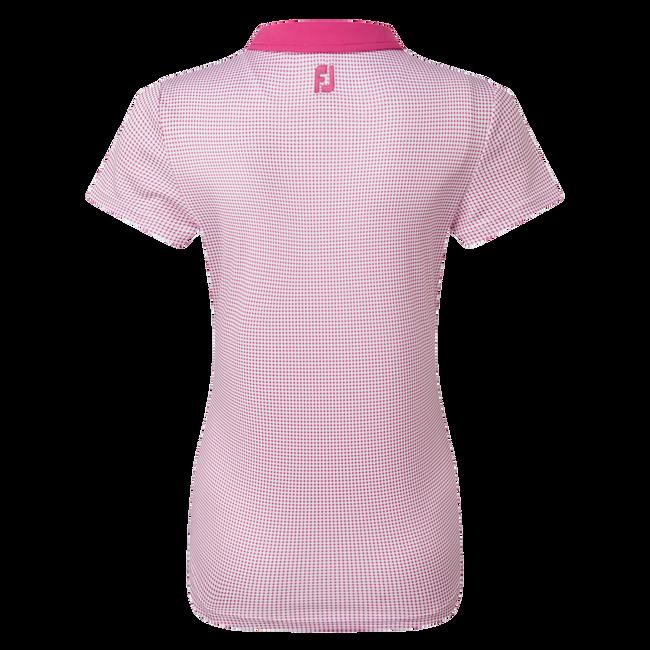 Women's Lisle Sleeveless Shirt with Neck Trim