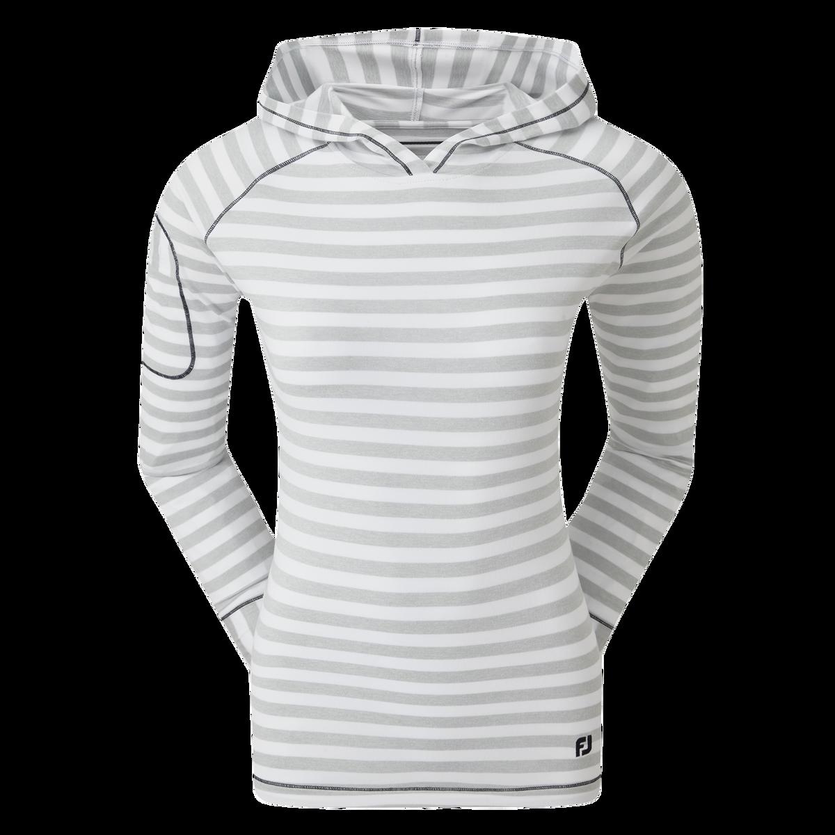 Hoodie-Pullover mit Streifen
