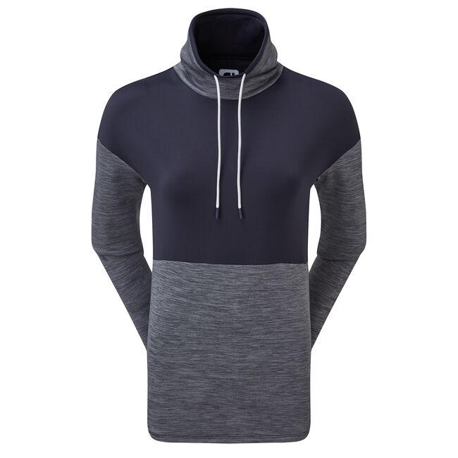 Fleece Pullover mit Stehkragen