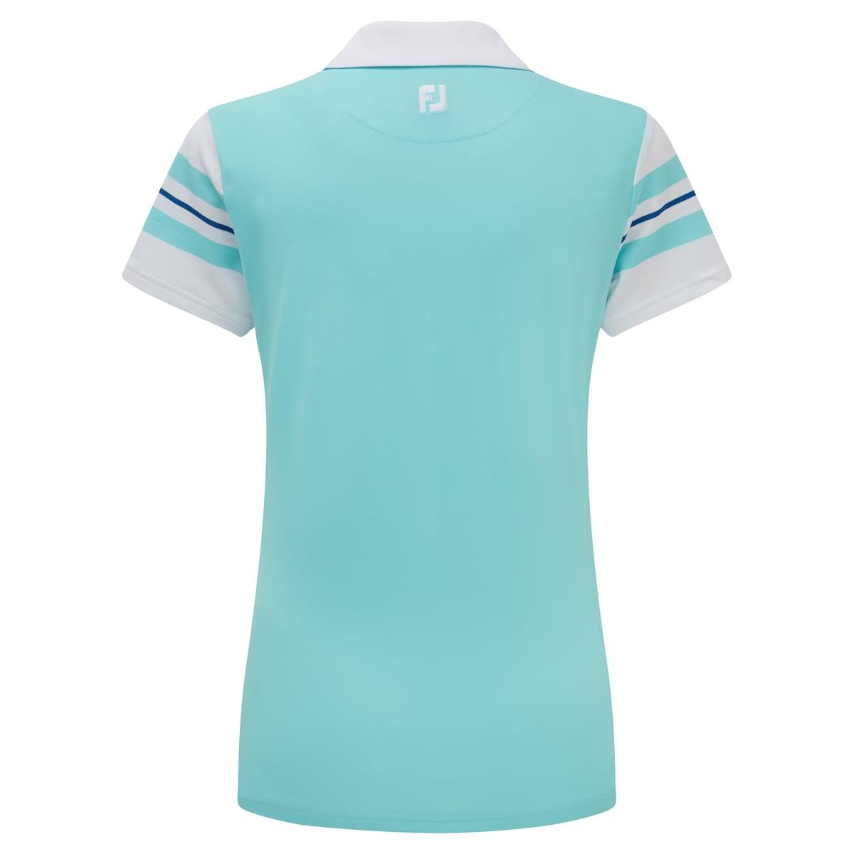 Baby Pique Sleeve Stripe Shirts Women-Previous Season Style