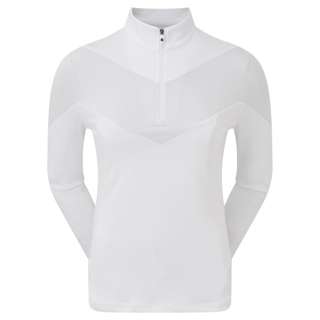 Engineered Jersey Half Zip Women-Previous Season Style