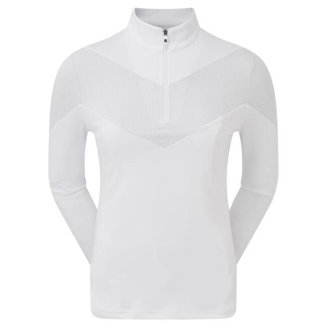Engineered Jersey Pullover, 1/2 RV Damen
