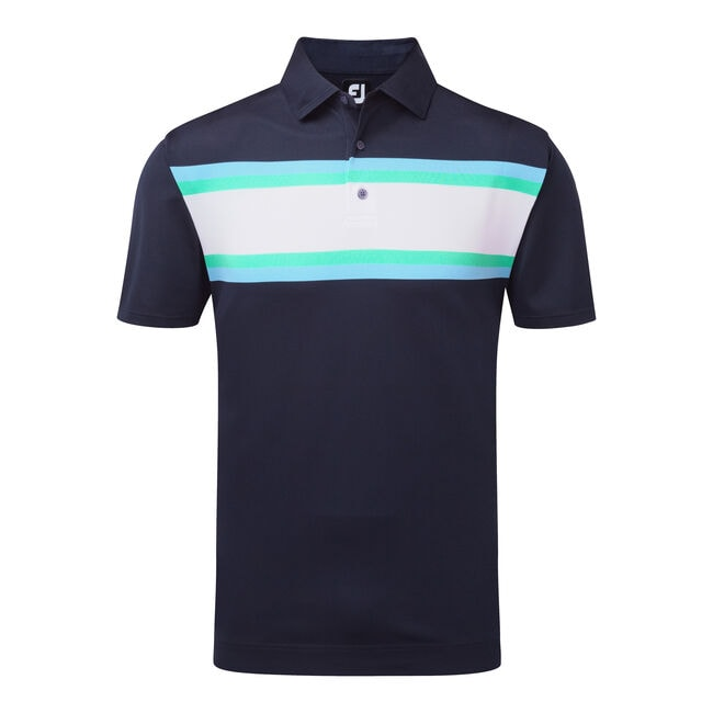 Stretch Pique All Colours Chest Stripe-Previous Season Style