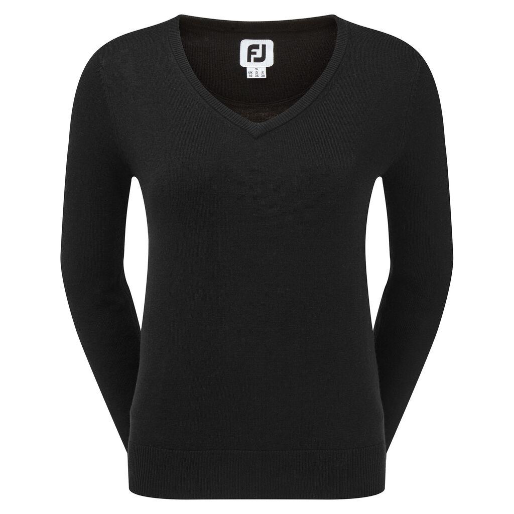 neueste Art von Einkaufen stabile Qualität Wool Blend V-Neck Pullover Women