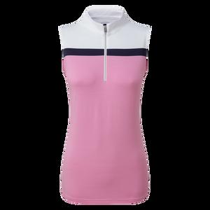 Women's Lisle Engineered Stripe Sleeveless Shirt