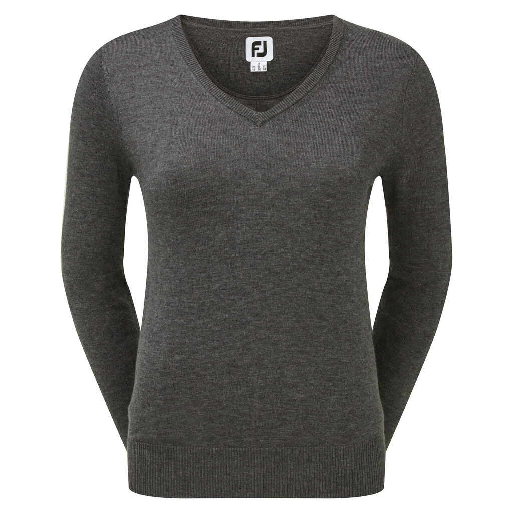 new style 71344 48340 Wool Blend V-Neck Pullover Women