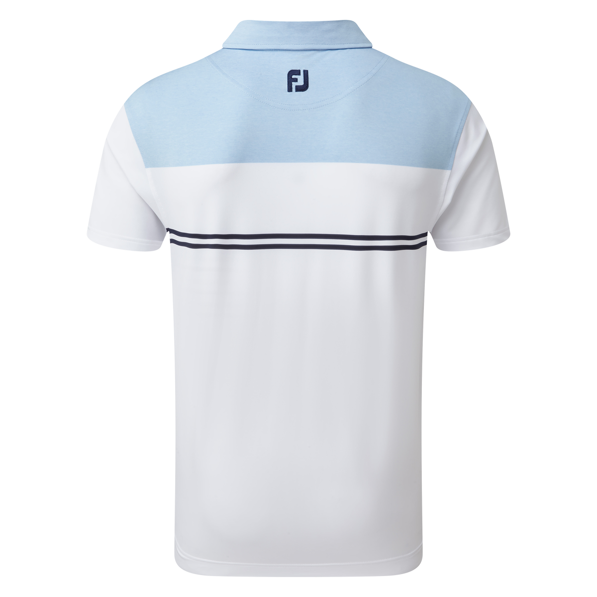 Heather Colour Block Lisle Performance Shirts