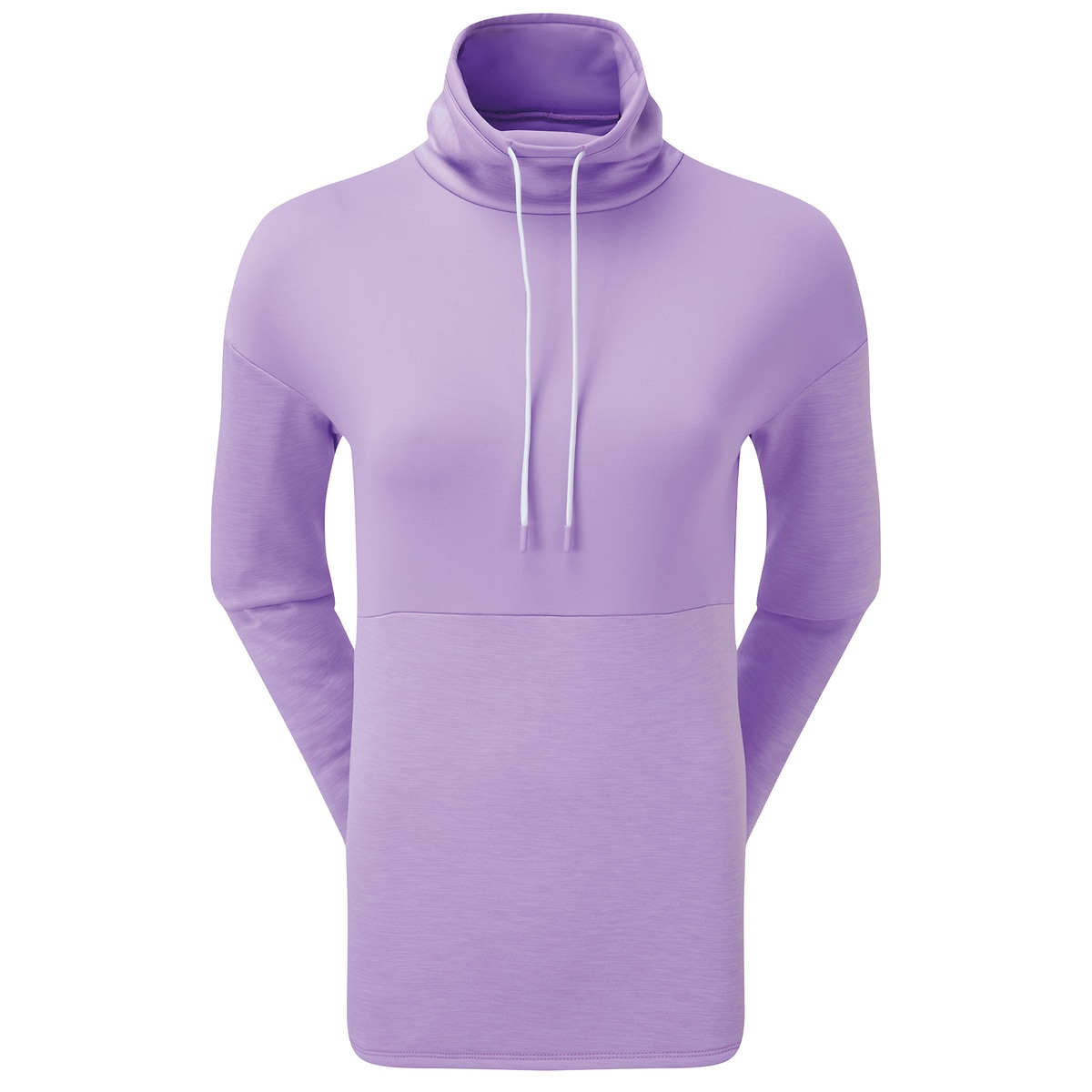 Funnel Collar Fleece Pullover