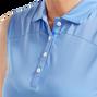 Women's Mesh Back Solid Sleeveless Lisle