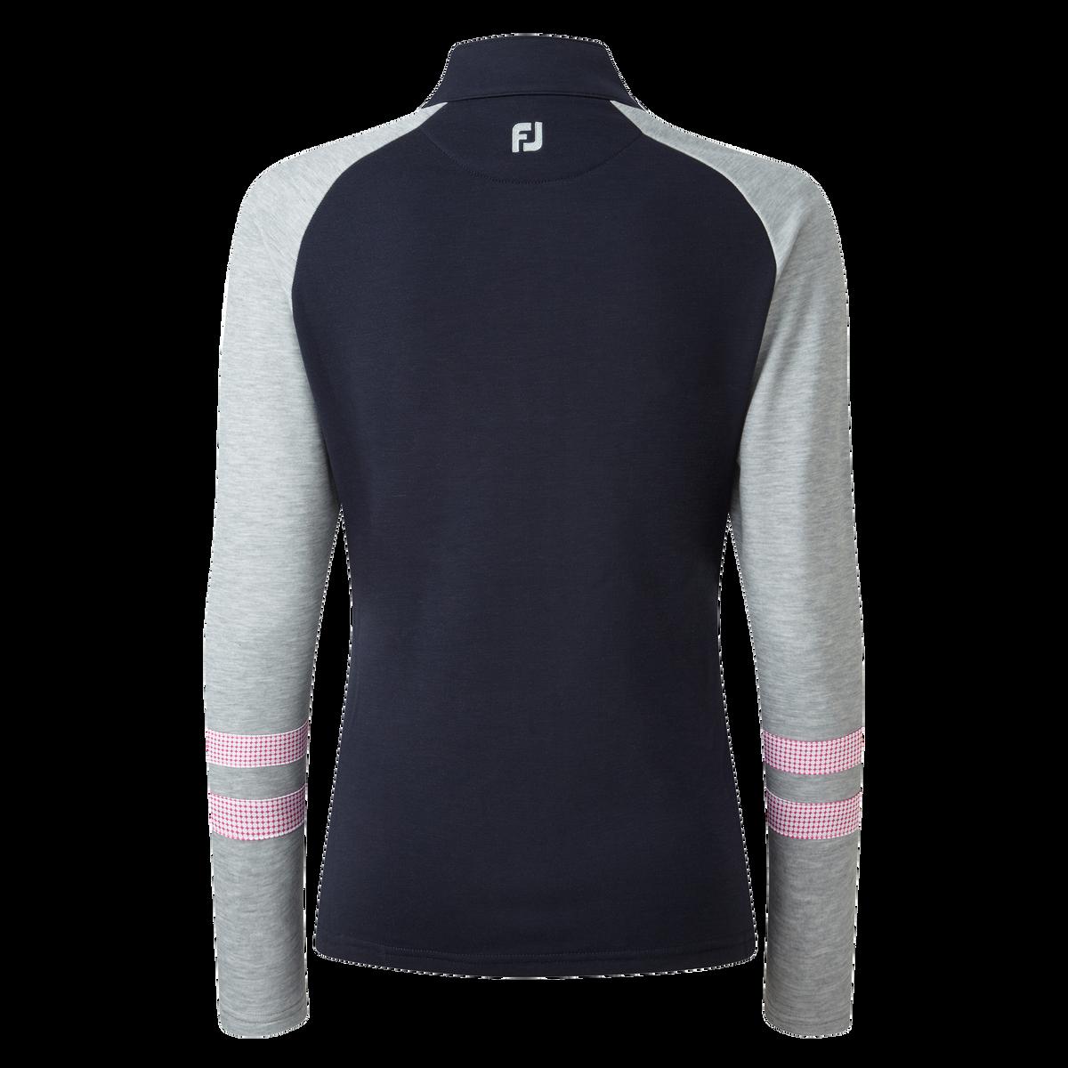 Women's Full Zip Raglan Colour Block Mid-Layer