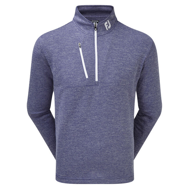 Heather Pinstripe Chill-Out Pullover