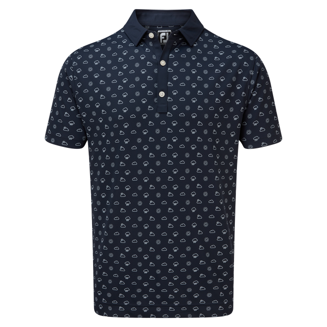 Smooth Pique Weather Print