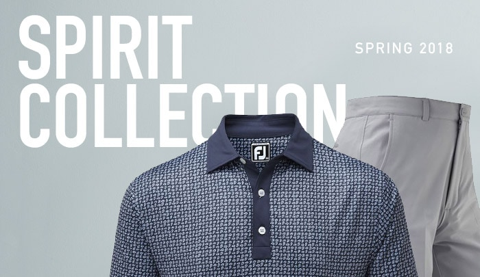 Spirit Collection Spring 2018 Golf Clothing