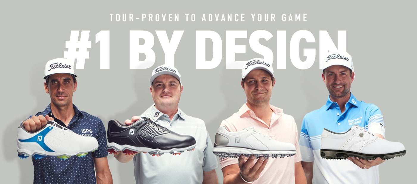 FootJoy #1 Shoe in Golf For A Reason