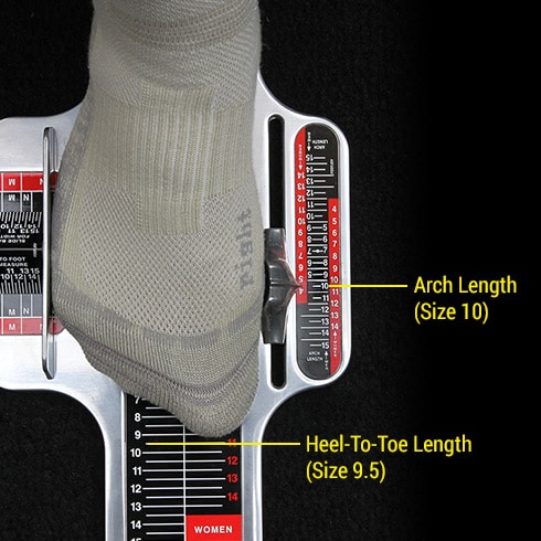 How To Measure Shoe Size Properly For Wide Feet
